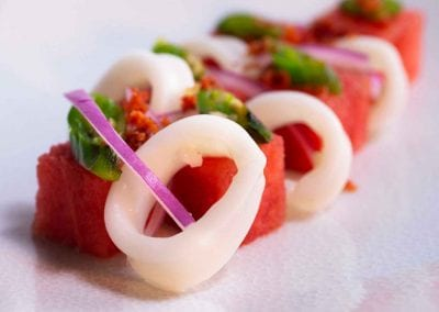 Spicy Melon Salad