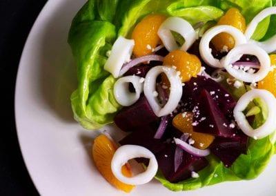 Beet & Butter Lettuce Salad